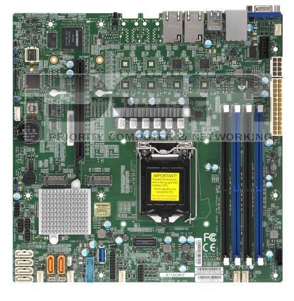 Supermicro 1U E-2100 4 Bay server