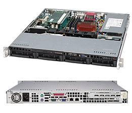 Supermicro 1U Dual Xeon E5 Dual LAN 4-Hot swap