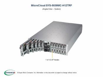 Microclouds - Supermicro 5039MC-H12TRF 3U 12-node Microcloud