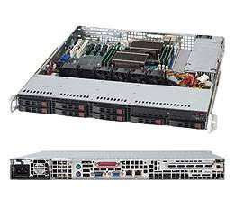 560W High-efficiency power supply,    80 PLUS Silver Level Certified