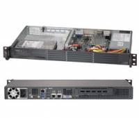 1U Servers - 1U Atoms/Celerons - Supermicro 1U Atom 5017A-EF superserver
