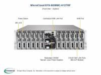 Microclouds - Supermicro 5039MC-H12TRF 3U 12-node Microcloud - Image 2